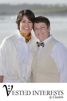 April and Darlene,  Long Beach, CA Made-To-Order and Custom  Made To Fit You  We believe that an exceptional wardrobe should be accessible to everyone.  Our vests are crafted specifically for you, based on your personal style, preferred fit, and vision.  Each vest is uniquely tailored and is a clear expression of who you are.   We have vests for Men, Women and available in Plus-sizes. Where to wear a custom vest: office, black tie event, opera, ballet, symphony, dance, dinner party, wedding.