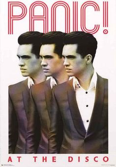 Get 3-times the Brendon Urie with this great Panic! at the Disco band poster! Published in 2016. Fully licensed. Ships fast. 24x36 inches. Need Poster Mounts..? pw51893F