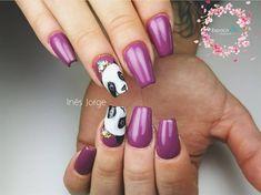 Day Cute Character and Animal Nail Art Kawaii Nail Art, Yellow Nail Art, Animal Nail Art, Flower Nail Art, Pretty Nail Art, Cute Characters, Nails Magazine, Art Day, Cute Nails