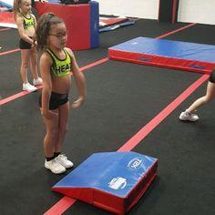 Tiny level 1 forward walover drilling. #cheerleading #cheer #cheerleaders #tumbling #tumble #sport #youth #youthsport #gymnast #gymnastics Easy Cheer Stunts, Easy Cheerleading Stunts, Cheerleading Cheers, Cheer Coaches, Gymnastics Lessons, Gymnastics Moves, Tumbling Gymnastics, Gymnastics Coaching, Cheer Dance Routines