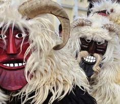 Croatian Buso Mask
