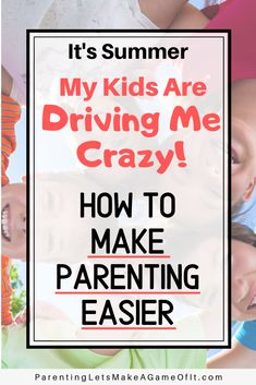"""While parenting is rewarding, it's common to think, """"My kids are driving me crazy!"""" Learn a secret to reduce the struggles and make parenting easier. Parenting Toddlers, Parenting Advice, Strong Willed Child, Make A Game, Drive Me Crazy, Sick Kids, 12 Weeks, Raising Kids, Best Mom"""