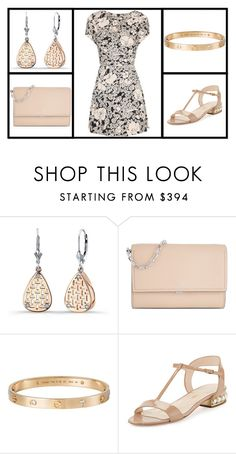 """""""Outfit # 3572"""" by miriam83 ❤ liked on Polyvore featuring Michael Kors, Cartier, Nicholas Kirkwood and Yves Saint Laurent"""