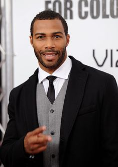 """Omari Hardwick Photos - Omari Hardwick attends the premiere of """"For Colored Girls"""" at Ziegfeld Theatre on October 2010 in New York City. - 'For Colored Girls' New York Premiere - Inside Arrivals Omari Hardwick, Skater Girl Style, Black Men Beards, Fashion Calendar, Rustic Wedding Photos, Disney Bound Outfits, Black Actors, Beard Styles For Men, Hazel Eyes"""