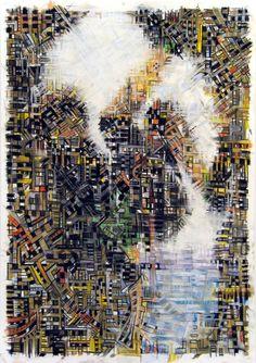 "Saatchi Art Artist Dimitri Kaliviotis; Drawing, ""I Love You All Infinity"" #art"