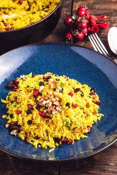 Το ρύζι των Χριστουγέννων Risotto, Rice, Christmas Recipes, Ethnic Recipes, Xmas, Food, Pie, Recipes, Essen