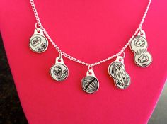Mitosis // Science // Biology Necklace by MEOWHEADS on Etsy, $15.00