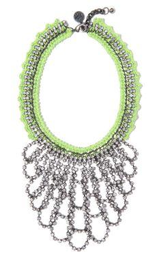 Venessa Arizaga: Green Lightning Necklace