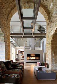 R novation appartement comtemporain lyon 6 me maison pinterest tvs et lyon - Deco moderne dans maison ancienne ...