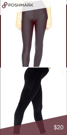 """American Apparel Leggings New America Apparel Leggings size SMALL.  80% Nylon / 20% Elastane) construction • Approximately 26 3/4"""" (67.9cm) inseam • Elastic waistband • Form-fitting •  Nylon Tricot is a stretchy, shiny fabric that's smooth and of medium thickness. 80% Nylon, 20% Elastane American Apparel Pants Leggings"""