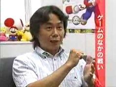 Shigeru Miyamoto at '05 interview