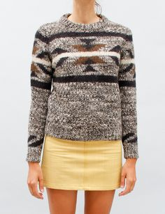 Isabel Marant Ouda Sweater- Brown ($100-200) - Svpply