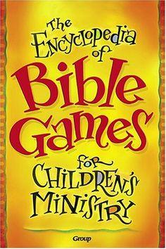 Bestseller Books Online The Encyclopedia of Bible Games for Children's Ministry Group Publishing $19.89  - http://www.ebooknetworking.net/books_detail-0764426966.html