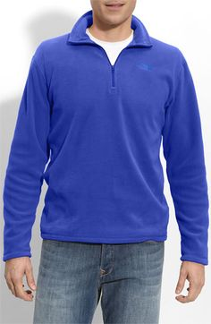 The North Face 'TKA 100' Quarter Zip Fleece Pullover | Nordstrom #nsale