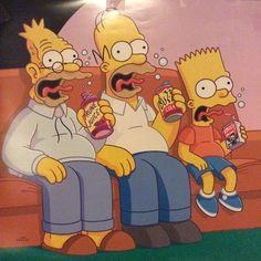 Dope Cartoons, Dope Cartoon Art, Cartoon Pics, Simpsons Funny, Simpsons Art, Simpson Wallpaper Iphone, Cartoon Wallpaper, Homer Simpson Beer, Gangster Drawings