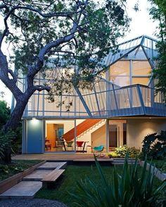 Palms House by Daly Genik Architects  via: blueverticalstudio