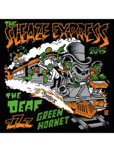 "The Sleaze Express #garagerock. Vinyl 7"" inch. The Deaf 'Go Loose Yourself', Green Hornet 'Gold Brick Swinger' & zZz 'Wild Girl'. Shop: https://www.paradisowinkel.nl/nl/programma-items/paradiso-vinyl-club/the-sleaze-express.html /// #vinyl #record #plaat #single #LP #EP #music #musiclover #paradisowinkel"