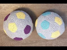 Háčkovaná detská futbalová lopta, Crocheted children's soccer ball - YouTube Crochet For Kids, Crochet Toys, Soccer Ball, Youtube, Amigurumi, European Football, European Soccer, Soccer, Youtubers