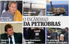 O escândalo da Petrobras