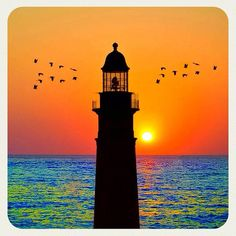 Lighthouse in Turkey - plus I love this picture! Orange, blue, and lighthouse... 3 of my favorite things!