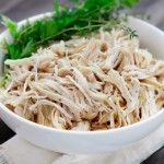All-Purpose Shredded Crock-Pot Chicken - One of my favorite time saving methods in the kitchen is to use the crock-pot to make shredded chicken when I need it for other dishes.