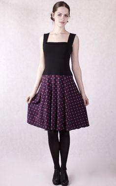 Kleider - NARA® Trägerkleid Sommerkleid Gepunktetes Kleid - ein Designerstück von Berlinerfashion bei DaWanda