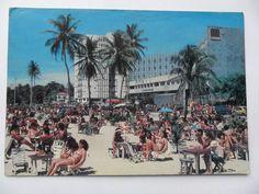 cartão postal antigo fortaleza ceará praia do meirelles
