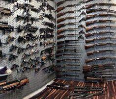 Top 100 Best Gun Rooms - The Firearm Blog