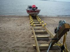 The simple and inexpensive way to secure your boat and keep it high and dry and out of the water. Each kit comes with everything you need to build your own boat ramp. Just add treated lumber. Comes with an easy to follow set of instructions. Kit allows for a ramp length up to 20' long. A