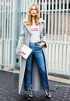 Winter / Spring Transition ~ ᎪᎾ ~ 10 Remarkably Cool Outfits to Try Next Week via @WhoWhatWear