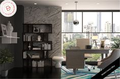 Modern home office Read more on our blog!  #discernliving