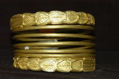 Dacian gold bracelet at the National Museum of the Union, Alba-Iulia, Romania. Date 2nd century BC - 1st century AD
