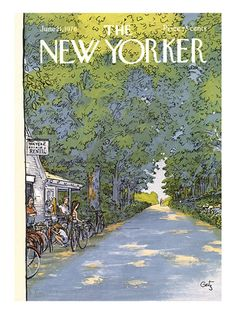 New Yorker Season Covers Print at the Condé Nast Collection