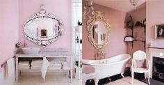 such a princess bathroom Princess Bathroom, Pink Baths, I Believe In Pink, Pink Room, Everything Pink, Dream Rooms, Beautiful Bathrooms, My Dream Home, Dream Life