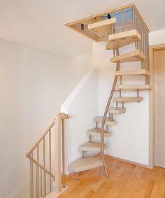 Kenngott Treppen - Bequemes Treppensteigen auf engem Raum - Treppen.de - das Fachportal für den Treppenbau Spații Mici