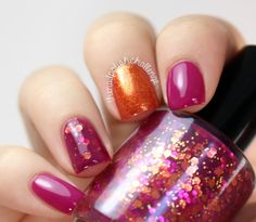 Gorgeous Fall Nails!  The Nail Polish Challenge Blog