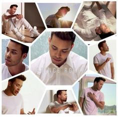 He looks good in white Prince Royse, Royce, The Singer Prince, Romeo Santos, Enrique Iglesias, Be My Baby, Back Off, I Fall In Love, Music Is Life