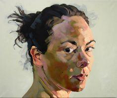Turning Head, acrylic on canvas, 100 x 120 cm, 2007