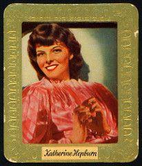 German Cigarette Card - Katharine Hepburn | by cigcardpix