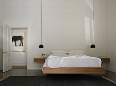 cantilevered bed - Studio Moore
