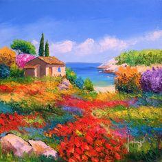 Jean Marc Janiaczyk è un pittore francese contemporaneo, paesaggista impressionista ■♤♡◇♧☆■