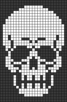 Alpha friendship bracelet pattern added by skull swirl filligree abstract. skull cross stitch or crochet chart türk - The Crocheting Place Picture outcome for cranium crochet diagram a knit and crochet communityZuckerschädel x-Stich , Crochet Skull Patterns, Bead Loom Patterns, Beading Patterns, Crochet Pattern, Alpha Patterns, Canvas Patterns, Quilt Patterns, Cross Stitching, Cross Stitch Embroidery