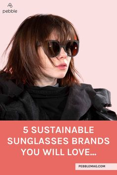 Interested in what makes ethical sunglasses? Shades are often make from plastic but the eco-friendly brands will use bio acetate or recycled materials including sustainable wood. Find your sustainable style aesthetic AND embrace more eco friendly living with our Top 5 brands... Sustainable Style, Sustainable Living, Sustainable Fashion, Vegan Clothing, Ethical Clothing, Independent Clothing, Ethical Fashion Brands, Eco Friendly Fashion, Slow Fashion