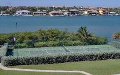 Seawatch tennis courts on Jupiter Island overlooking Intracoastal Jupiter Florida, Palm Beach, Tennis, Real Estate, River, Island, Outdoor, Outdoors, Real Estates