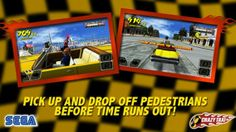 Crazy Taxi For Dreamcast Turns 16 Years Old Today! Taxi Games, Crazy Taxi, Time Running Out, First Game, 16 Year Old, Google Play, Retro, Ios, Gaming