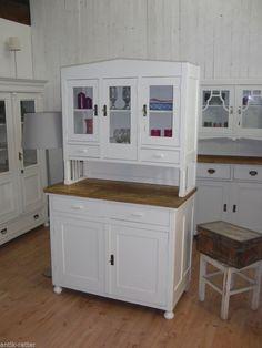 Jugendstil Küchenbuffet Buffet Anrichte Vintage Shabby Landhaus Antik Retter HH in Antiquitäten & Kunst, Mobiliar & Interieur, Schränke   eBay