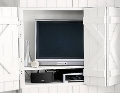 make these barn doors over TV