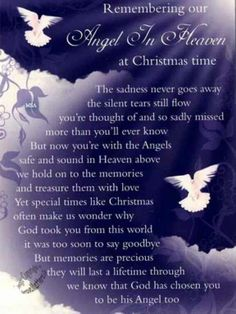Our Angel In Heaven At Christmas miss you family quotes heaven in memory christmas christmas quotes christmas quote christmas quotes about losing loved ones christmas in heaven quotes christmas in memory quotes Miss Mom, Miss You Dad, Christmas Quotes, Christmas Time, Xmas Poems, Merry Christmas In Heaven, Christmas Pictures, Christmas Thoughts, Christmas Sentiments