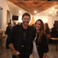 Jensen is so happy here :,))))
