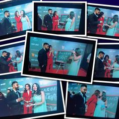 Photos of Virat Kohli, Anushka Sharma looking glamorous couple at maiden Indian Sports Honours red carpet - HD Photos